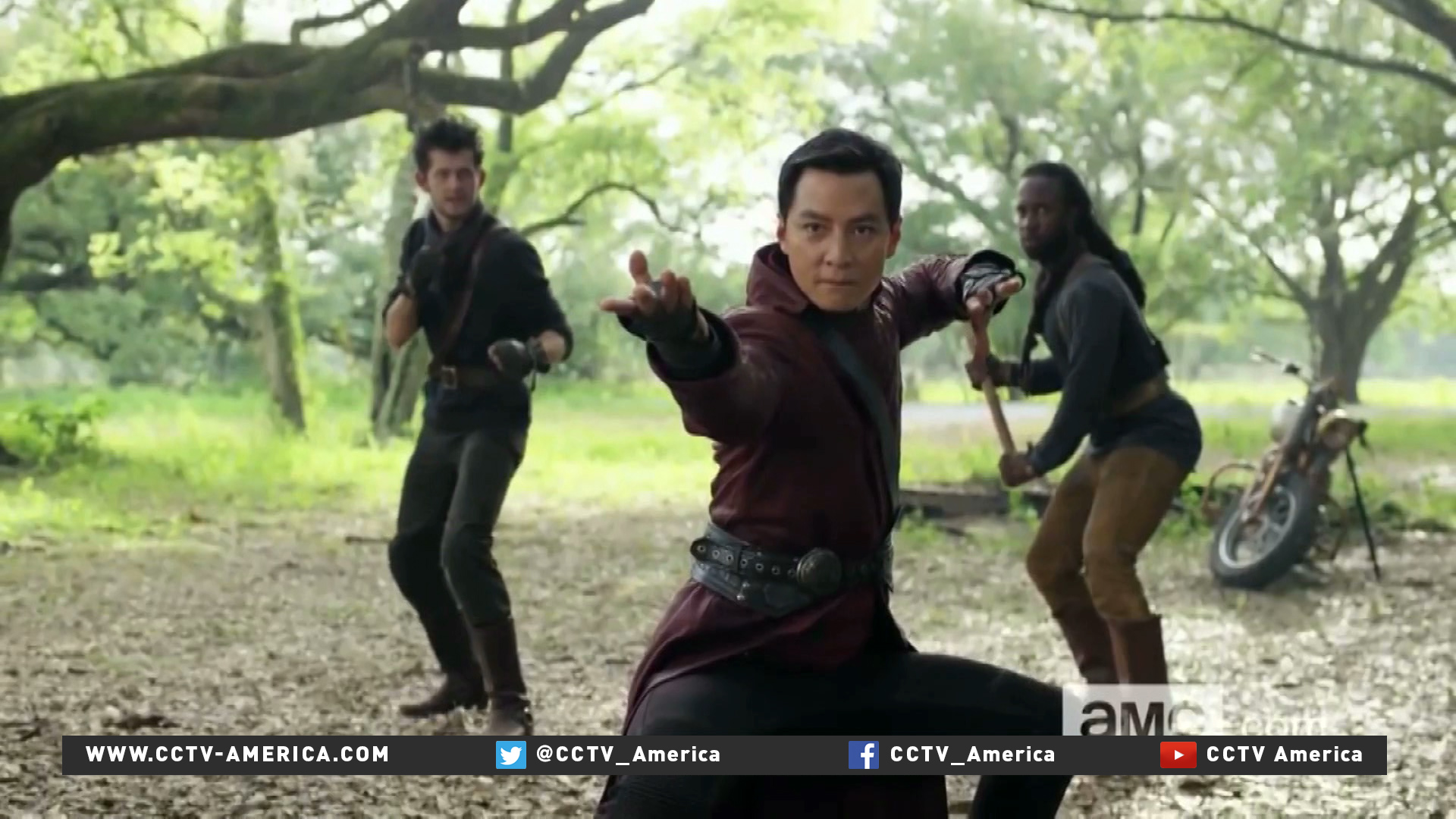 Into the Badlands producer, star Daniel Wu breaks barriers for Asian actors